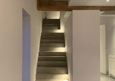 escalier moderne architecte d'intérieur Bourgogne JC Bounon
