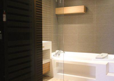 Agencement suite parentale salle de bain architecte intérieur bourgogne