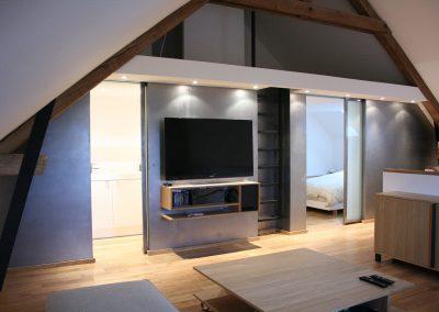 Aménagement pièce à vitre architecte d'intérieur Bourgogne