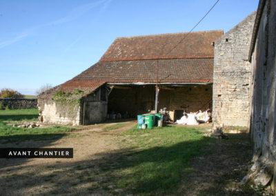 Rénovation corps de ferme Bourgogne